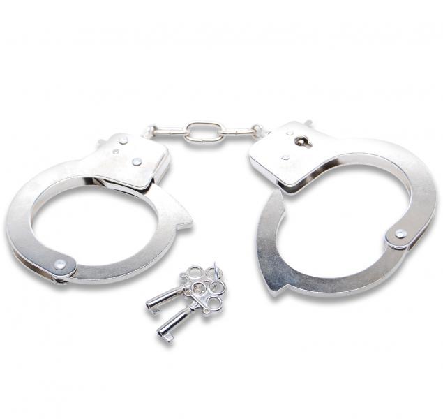 Наручники с ключами Official Handcuffs купить металлические наручники для с